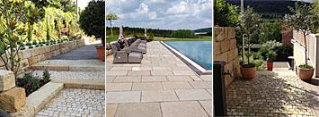 naturstein gartenwerk mauersteine terrassenplatten. Black Bedroom Furniture Sets. Home Design Ideas