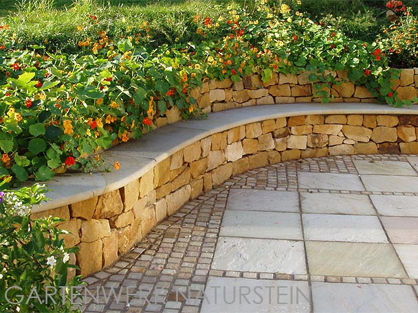 Mauersteine for Garten bruchsteine